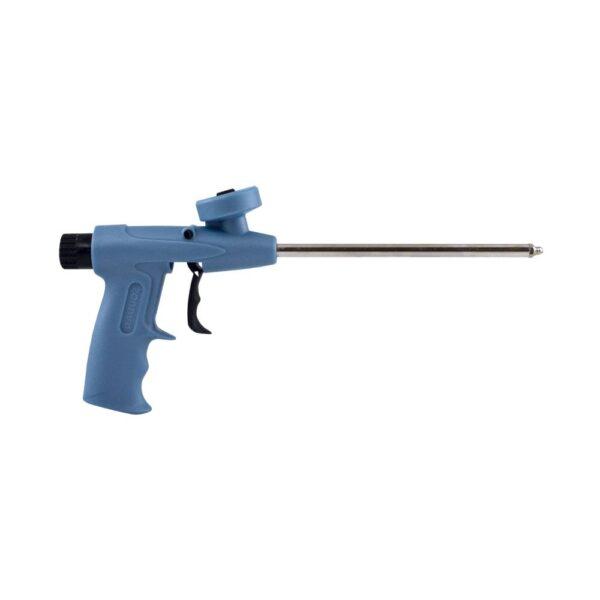 Pistola para aplicação de espuma com adaptador de rosca