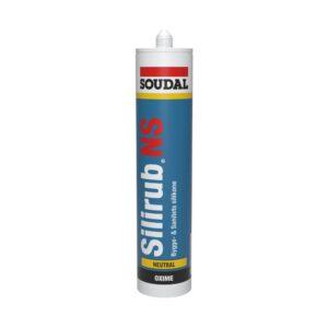 Selante à base de silicones para juntas sanitárias e cozinhas e trabalhos com vidros