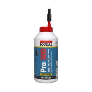 Cola branca à base de PVA para aplicções em madeira resistente a altas temperaturas e aplicações no interior com exposição de curta duração a água.
