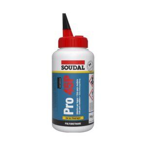 Cola com base de poliuretano adequada para madeira húmida, aplicações no interior que estejam expostas a elevada humidade relativa e aplicações no exterior que estejam expostas à influência meteorológica direta.