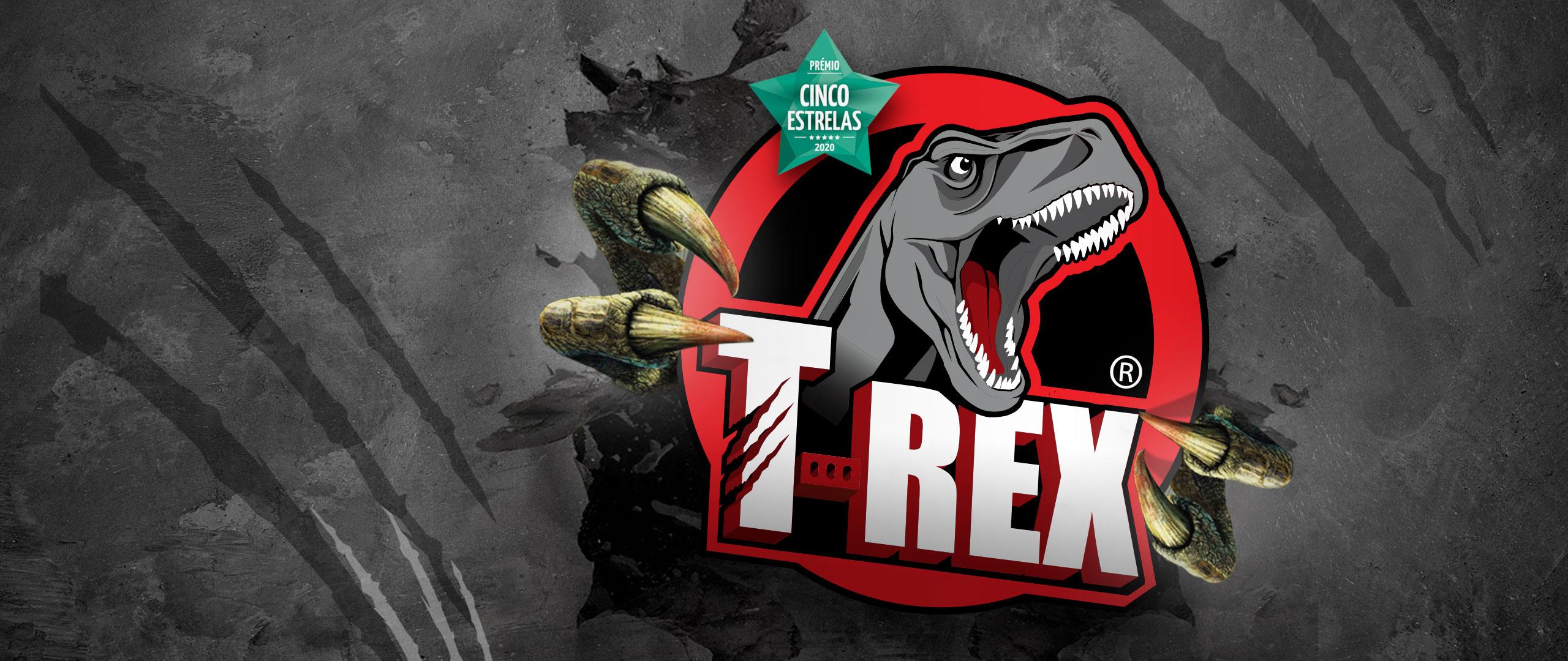 T-Rex força extrema