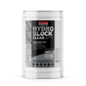 Hidrorrepelente líquido para a proteção e impermeabilização de telhados e paredes porosas