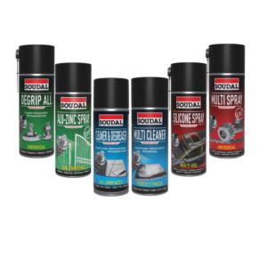 pack sprays técnicos