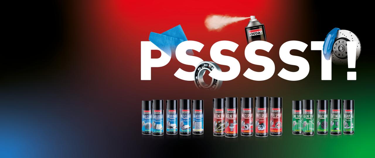 Sprays Tecnicos da Soudal