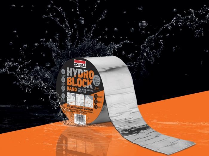 fita impermeabilizante hydro block band soudal