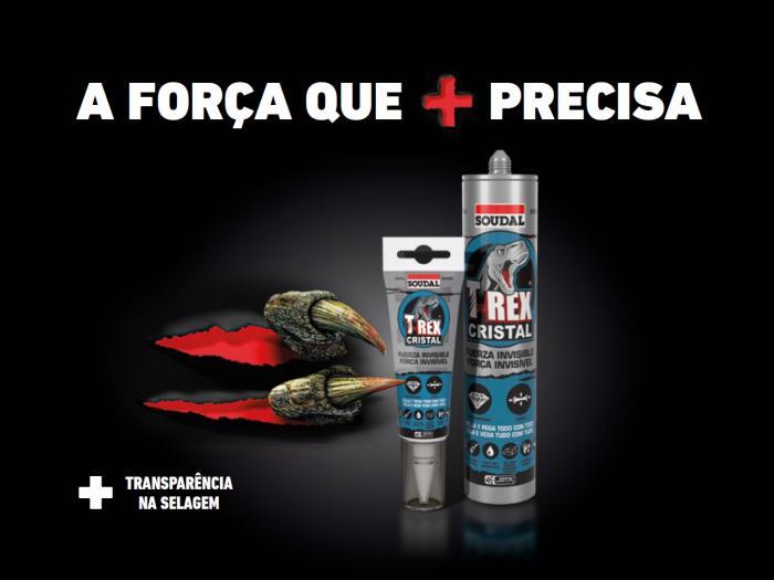 Cola e Veda T-Rex Cristal Soudal