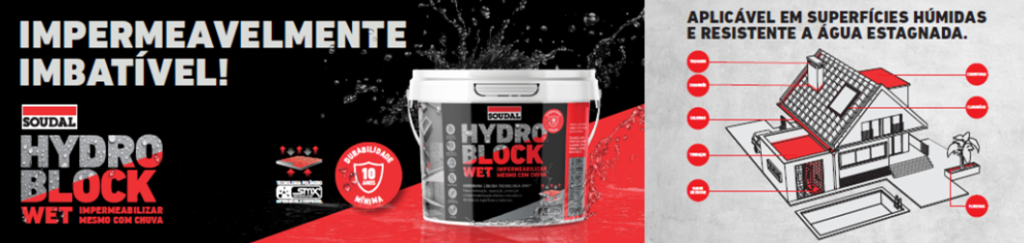 impermeabilizante hydro block wet soudal